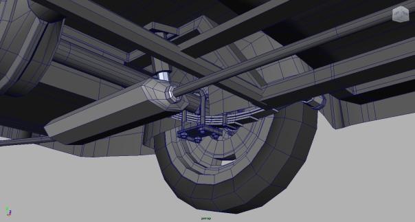 Reliant Regal, Autodesk Maya, 3d model