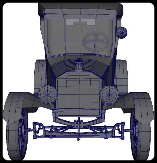 Ford Model T, 3d Model