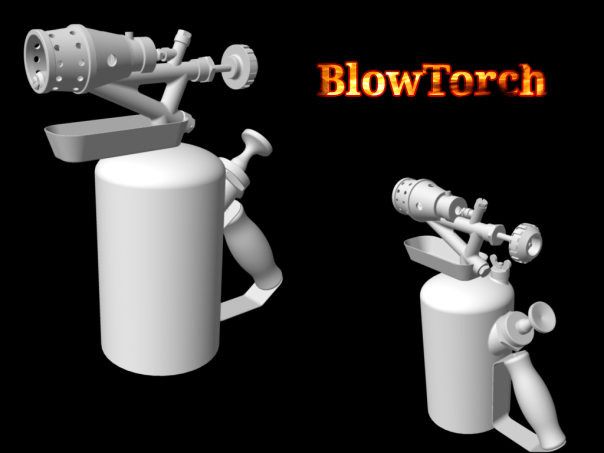 blowtorch, free model