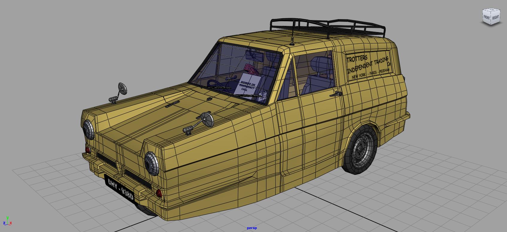 Advanced Car Rigging in Maya   3d Studio UK
