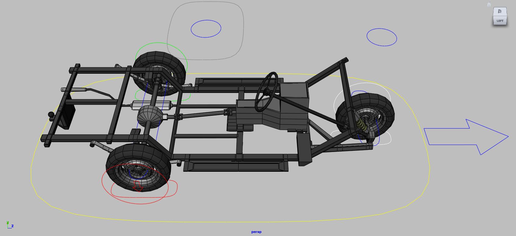 Advanced Car Rigging in Maya | 3d Studio UK