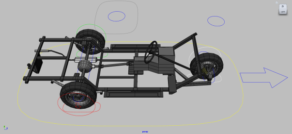 advanced car rigging in maya