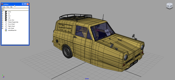 car rigging in maya