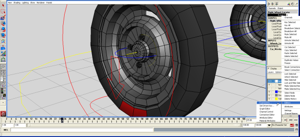 Rigging Wheels in Maya