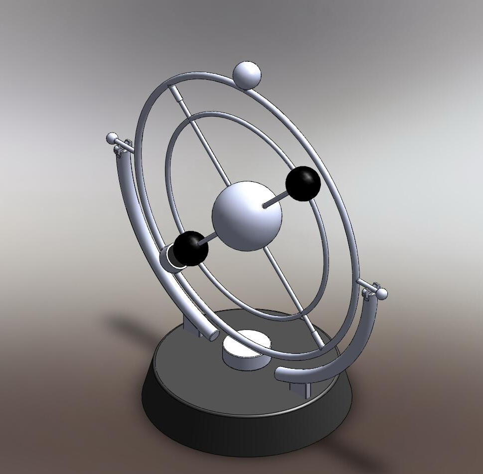 3D Solar System Modal - Pics about space