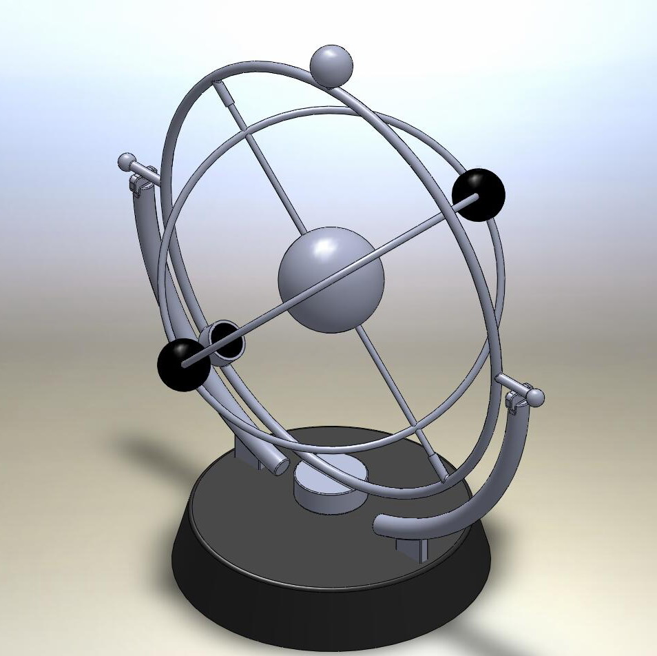 Kinetic Solar System Free Solidworks Model 3d Studio Uk