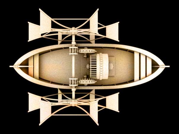 DaVinci - Boat
