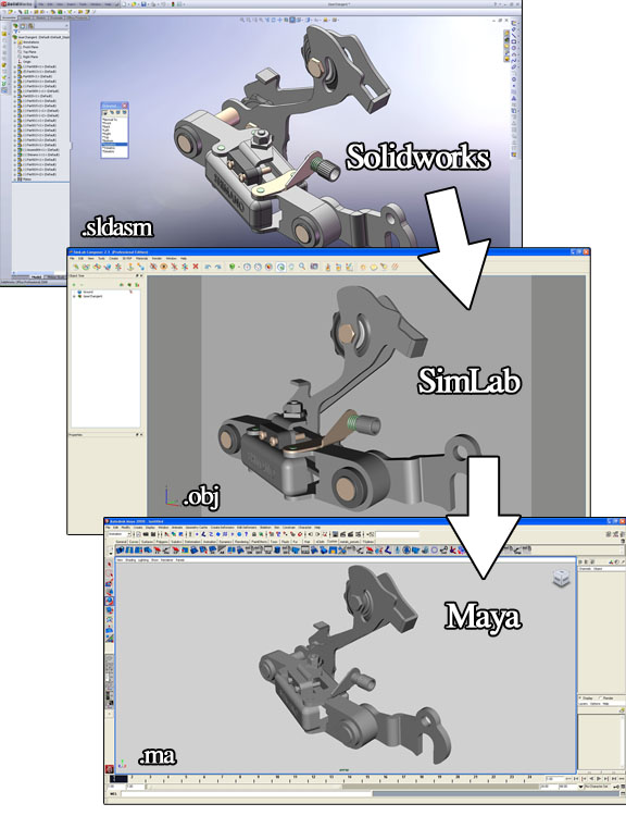 Solidworks to Maya