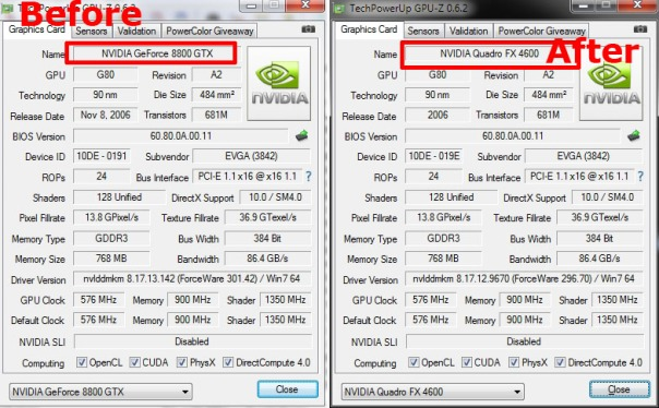 GeForce vs Quadro,geforce to quadro