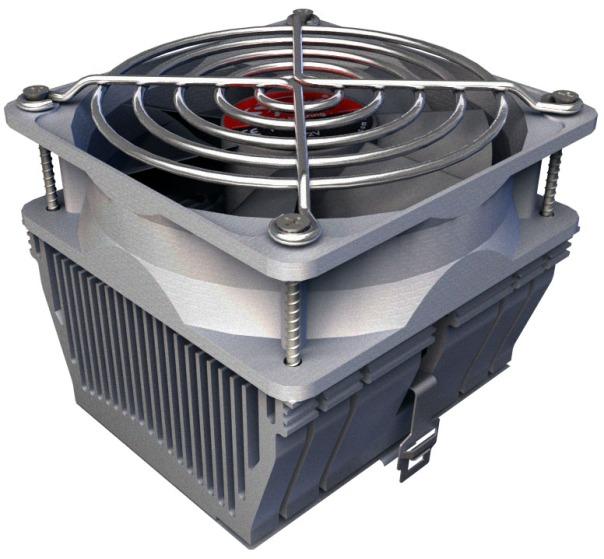 CPU Cooler, 3d,Spire