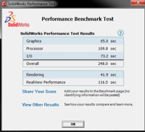 Solidworks Performance Benchmark