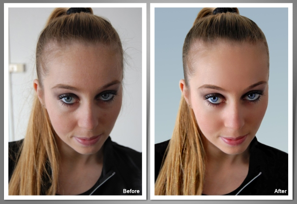 Beauty Retouching, Retuschieren