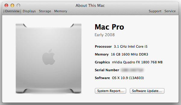 Hackintosh with nVidia Quadro FX