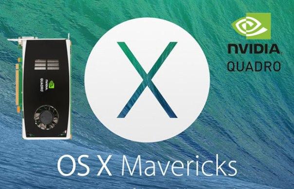 nVidia Quadro Apple OS X